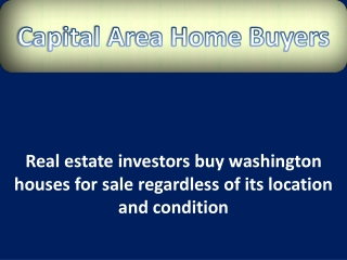 buy washington houses for sale