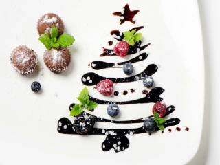 Food Lovers Christmas Trees