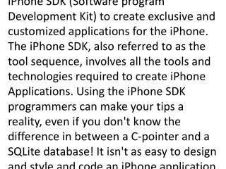 iphone application programming