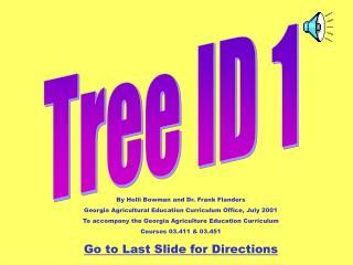 Tree ID 1