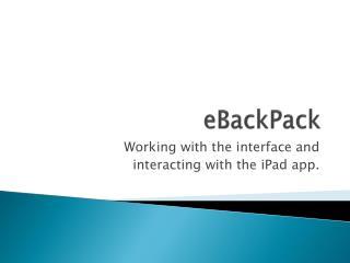 EBackPack