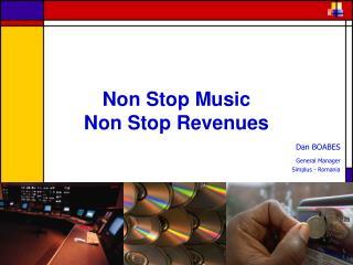 Non Stop Music Non Stop Revenues