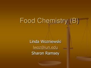 Food Chemistry B