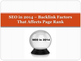 Info on Florida SEO 2014