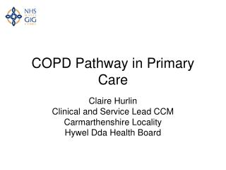 COPD Pathway in Primary Care