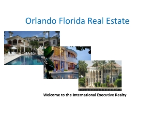 Orlando Florida Real Estate