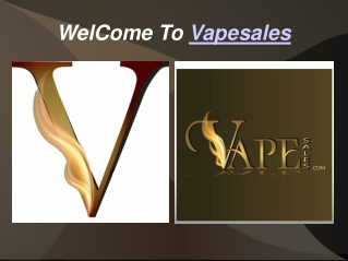 Welcome To Vapesales With E-cig