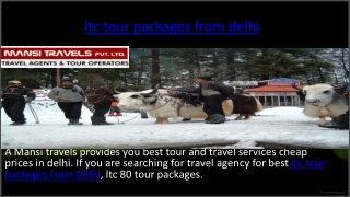 ltc tour packages from delhi
