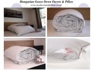Hungarian Goose Down Duvet