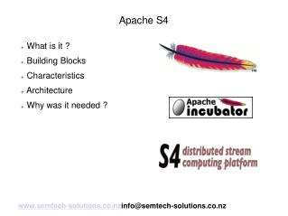 An introduction to Apache S4