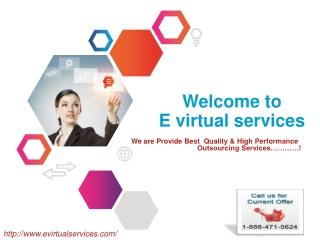 welcome To E virtual services