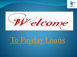 Pay back monthly loans