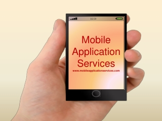 Mobile Application Service Provider