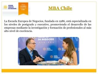 MBA EN Chile