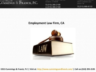 Employment Law Firm