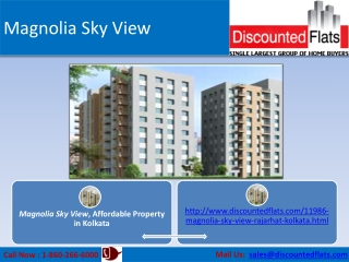 2 BHK Flats for Sale at Rajarhat, Kolkata