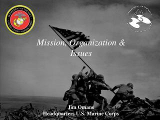 Mission, Organization  Issues