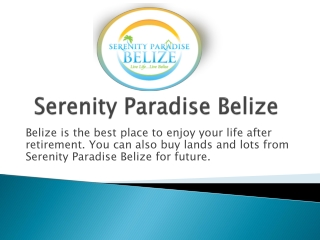 Belize Land for Sale | Lots for sale Belize