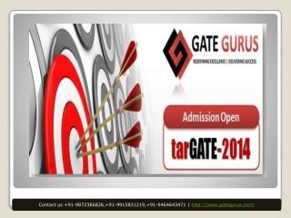 GateGurus - A pioneer institution for