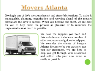 Atlanta Movers