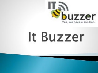 ItBuzzer-Web design studio ,Web development company