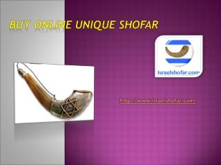 Buy Online unique shofar