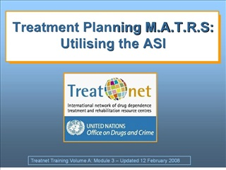 treatment planning m.a.t.r.s: utilising the asi