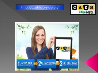 Cash Table-online Loan Lending Company