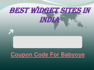 Best Widget Sites In India