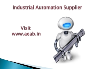 Industrial Automation Supplier