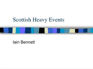 Scottish Heavy Events