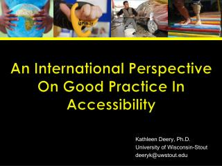 An International Perspective On Good Practice In Accessibility