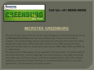 Microtek Greenburg Gurgaon