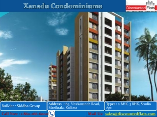 2, 3 BHK flats in Xanadu Condominiums at Rajarhat in Kolkata