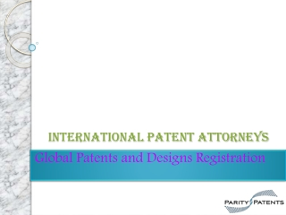 International Patent Attorneys
