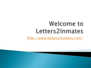 Email a Prisoner