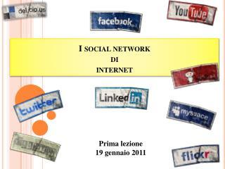 I social network di internet