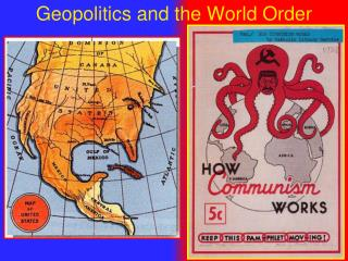Geopolitics and the World Order