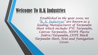 Tripal Manufacturer in Delhi - R.K. Industries