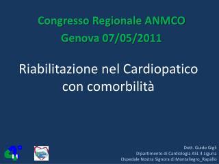 Riabilitazione nel Cardiopatico con comorbilit