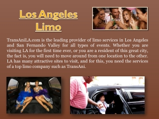 Los Angeles Limousine