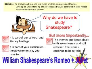 William Shakespeare s Romeo  Juliet