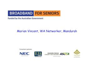 Marian Vincent, WA Networker, Mandurah