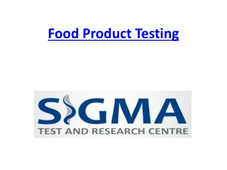 Food Testing Laboratory in delhi