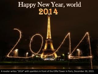 Happy New Year, world