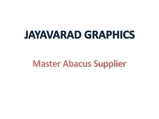 Abacus-Manufacturer
