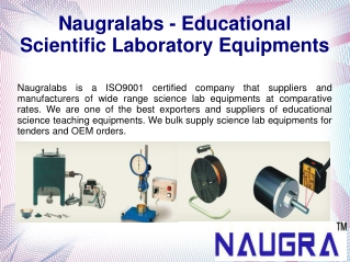 Science Lab Equipments