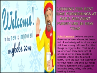 Looking for Best Home Furnishings at Bob's Discount Furnitur
