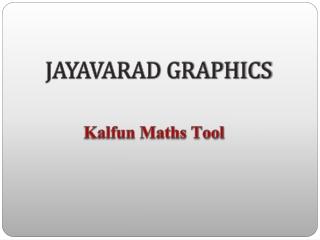 Kalfun-Maths-Tool-Supplier