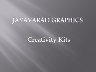 Creativity-Kits-Supplier